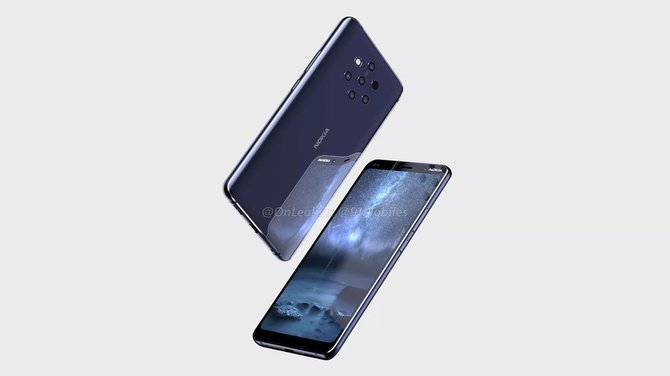Nokia 9 coraz bliżej - smarfon pokazany na pierwszych renderach [1]