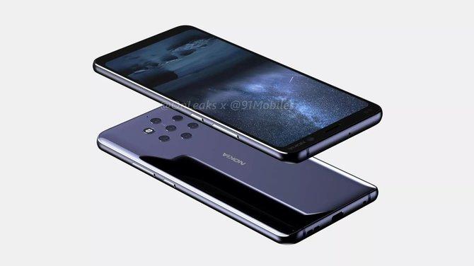 Nokia 9 coraz bliżej - smarfon pokazany na pierwszych renderach [2]