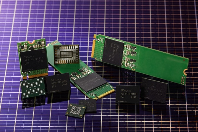 Hynix wprowadza 96-warstwowe kości pamięci flash NAND [1]