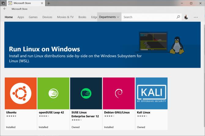Linuksowy podsystem w Windows z płatną dystrybucją WLinux [2]