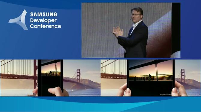 Samsung zaprezentował smartfona ze składanym ekranem [3]