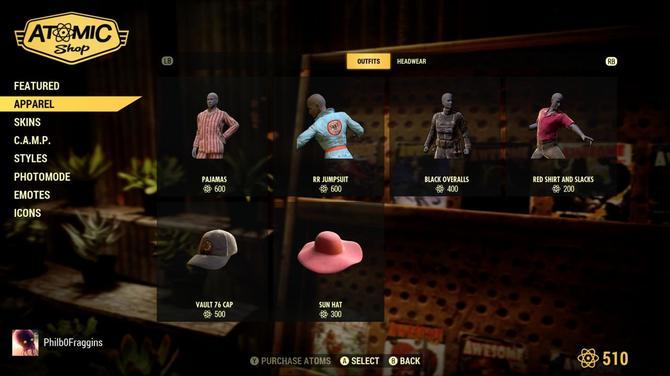Fallout 76: poznaliśmy ceny i przedmioty  w obrębie mikrotransakcji [3]