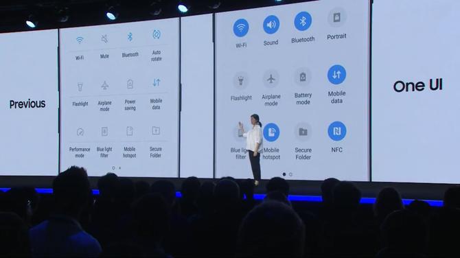 One UI - Samsung szykuje metamorfozę interfejsu smartfonów [1]