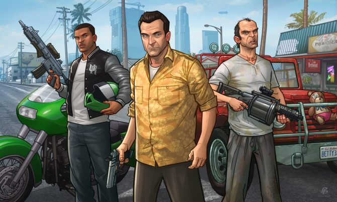 GTA V sprzedało się lepiej niż GTA III, GTA IV, San Andreas i Vice City [1]