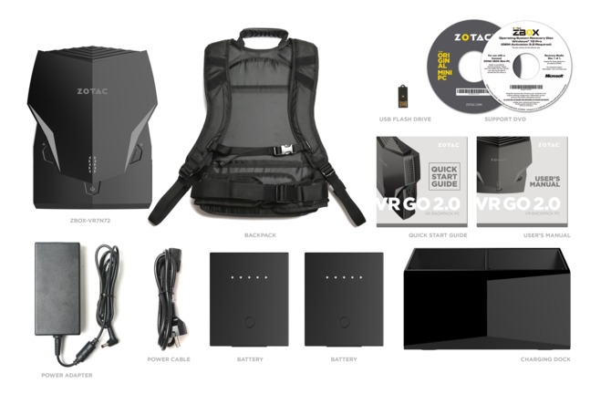 Komputer-plecak Zotac VR Go 2.0: immersja w grach bez przeszkód [1]