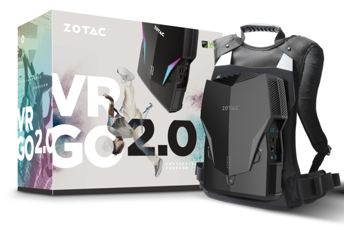 Komputer-plecak Zotac VR Go 2.0: immersja w grach bez przeszkód [2]