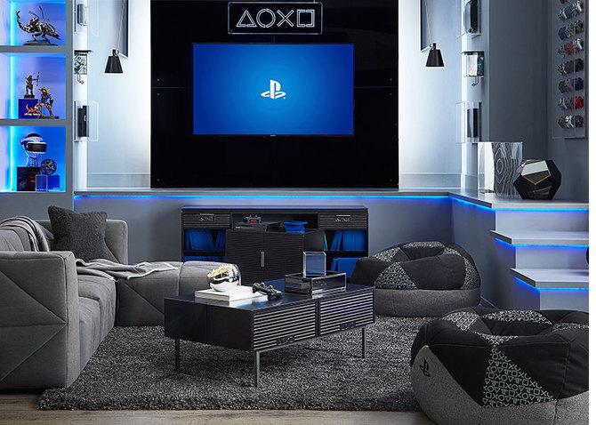Oficjalne meble od PlayStation: dostępne półki, telewizory i stoliki [1]