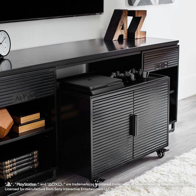 Oficjalne meble od PlayStation: dostępne półki, telewizory i stoliki [5]