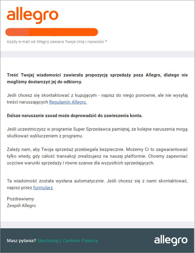 Allegro podgląda e-maile. Przekonaliśmy się na własnej skórze [4]