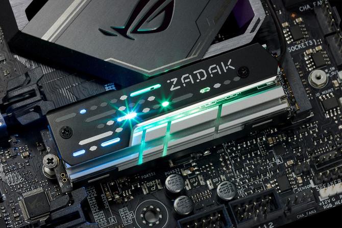 ZADAK 511 MOAB - Radiator z aRGB LED dla... dysków SSD M.2 [2]