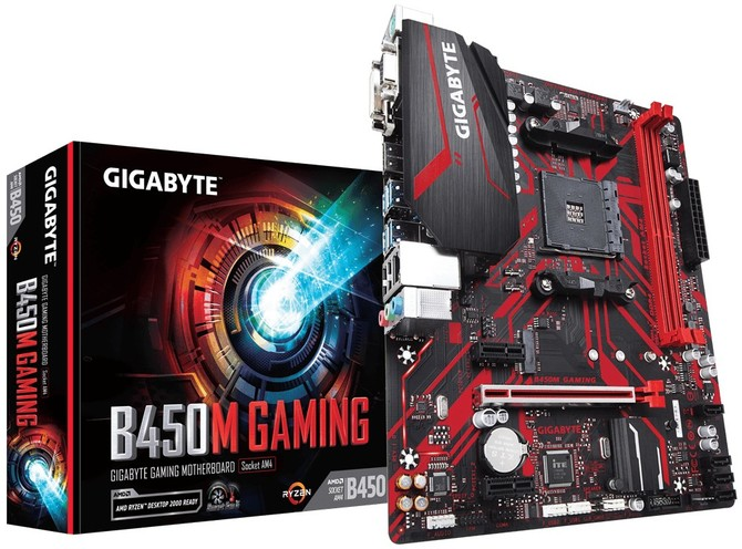 Gigabyte B450M Gaming - nowe mikro ATX dla AMD Ryzen [4]