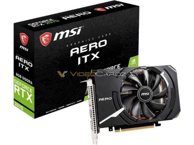 MSI GeForce RTX 2070 AERO ITX - najmniejszy RTX w rodzinie [2]