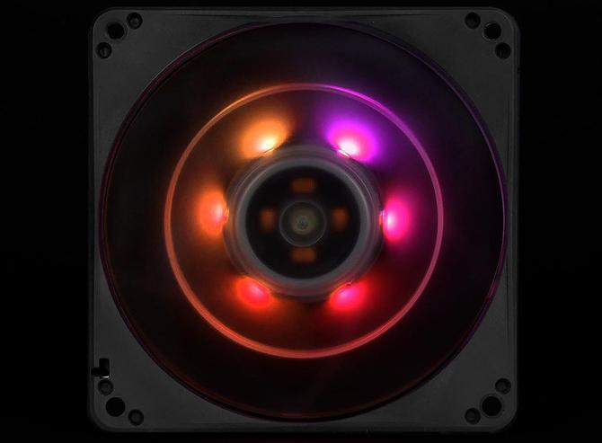 SilverStone FW124-ARGB - Wentylatory typu slim z aRGB LED [3]