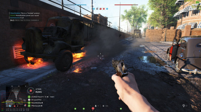 Ray Tracing w Battlefield V - GeForce RTX serii 2000 ledwo zipią [2]