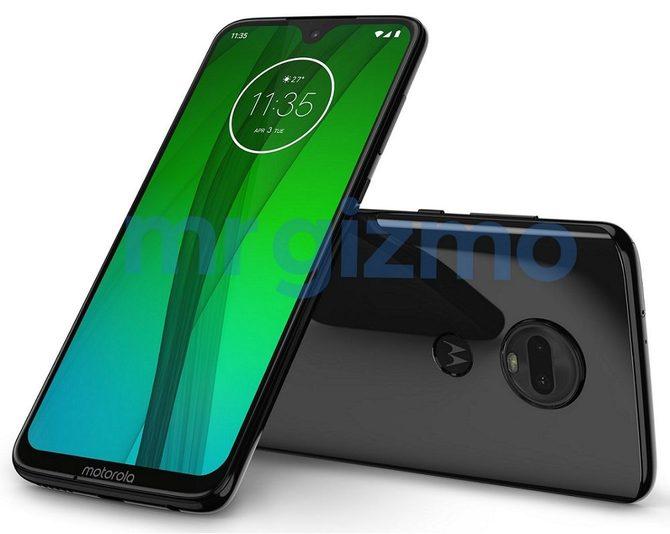 Motorola Moto G7 - nowe rendery i specyfikacja smartfona [3]