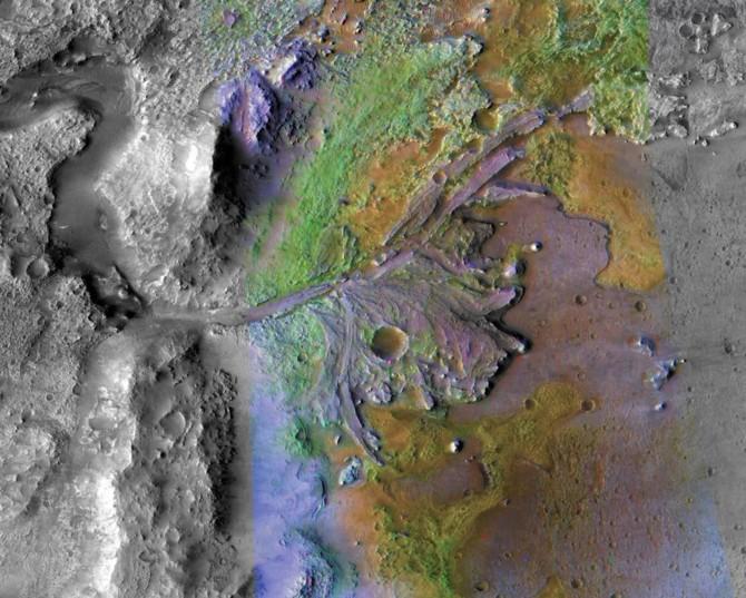 Mars 2020 Rover - NASA wybrała miejsce rozpoczęcia badań [1]