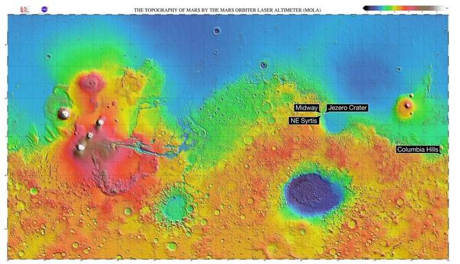 Mars 2020 Rover - NASA wybrała miejsce rozpoczęcia badań [2]