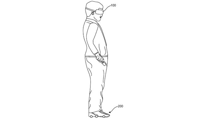 Google patentuje zmotoryzowane buty do wirtualnej rzeczywistości  [1]
