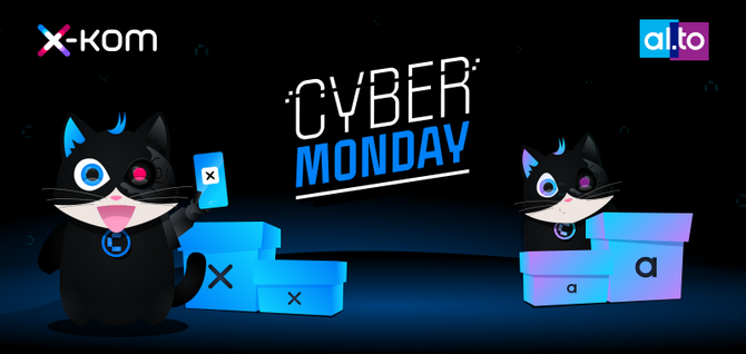 Cyber Monday w sklepach x-kom i al.to - promocje, przeceny, okazje [nc1]