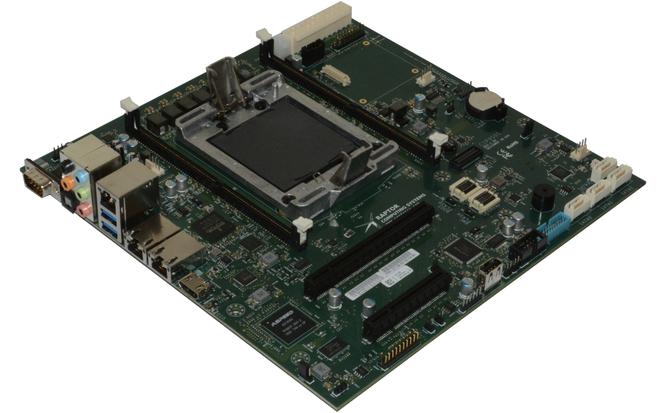 Raptor Blackbird - Płyta główna Micro ATX dla procesorów IBM [1]
