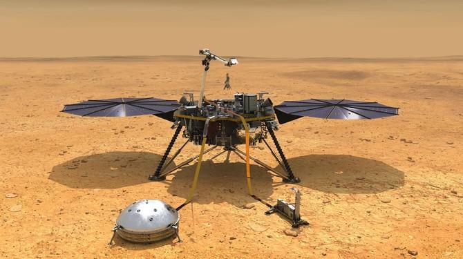 NASA InSight - lądowanie już dziś. Gdzie można obejrzeć na żywo? [1]