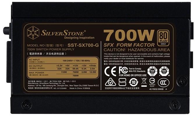 SilverStone SX700-G - zasilacz SFX z certyfikatem 80Plus Gold [2]