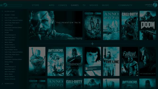 Steam: w sieci pojawił się screen z nową szatą graficzną platformy [3]