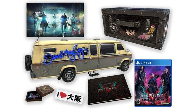 Devil May Cry 5 - zawartość i cena wersji kolekcjonewrskiej [2]