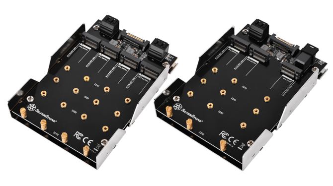 SilverStone SDP11 i SDP12 - Adaptery na dyski SSD do zatoki 5,25 [1]