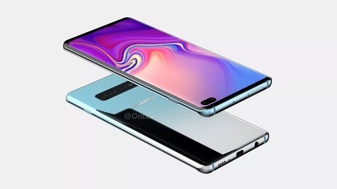 Samsung Galaxy S10+. Pierwsze rendery smartfona bez notch? [1]