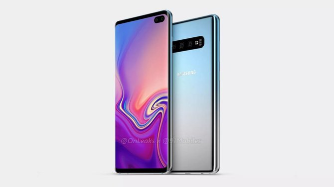 Samsung Galaxy S10+. Pierwsze rendery smartfona bez notch? [2]