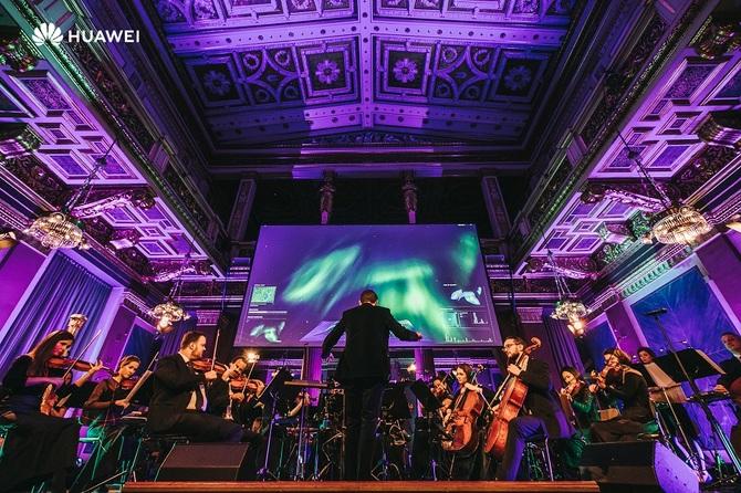 Huawei prezentuje koncert Sound of Light współtworzony przez AI [1]