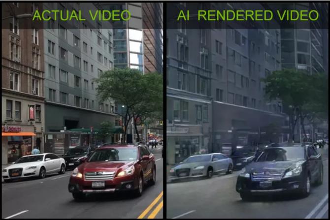 NVIDIA: AI generuje interaktywne wideo bazujące na rzeczywistości [1]