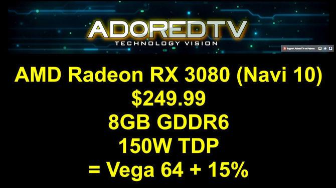 Plotka: AMD Radeon RX 3000 z premierą w przyszłym roku? [4]