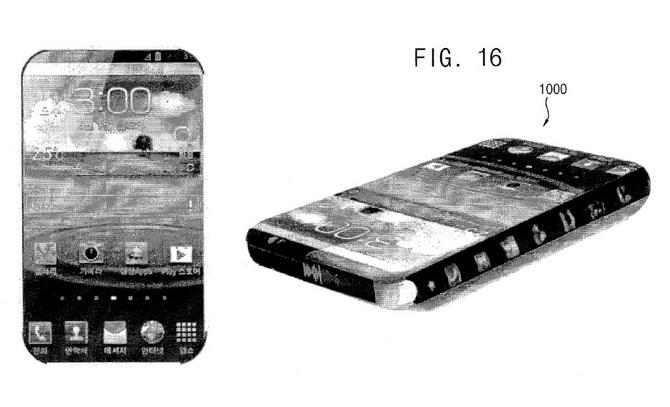 Samsung pracuje nad smartfonem z wyświetlaczami po bokach [1]