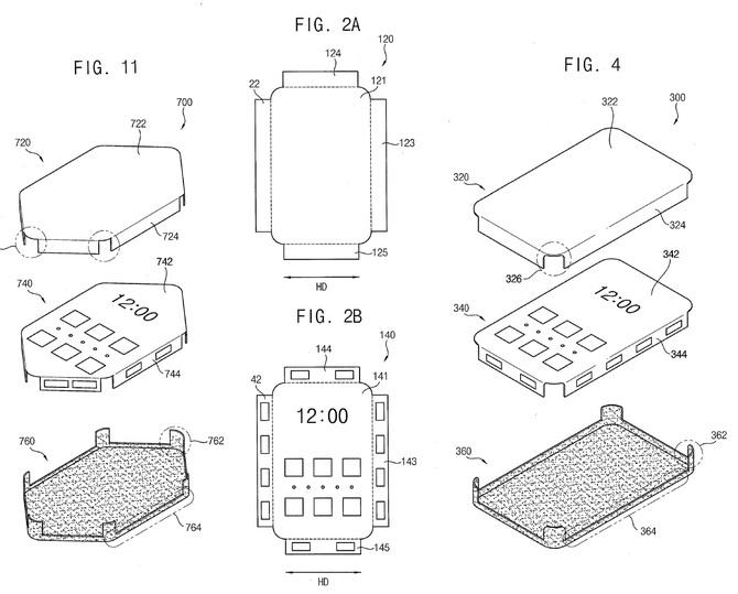 Samsung pracuje nad smartfonem z wyświetlaczami po bokach [2]