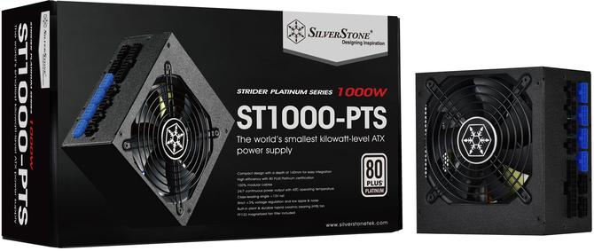 SilverStone Strider Platinum - Najmniejsze na świecie zasilacze o mocy 1000 W [1]