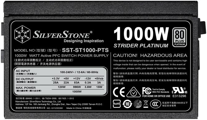 SilverStone Strider Platinum - Najmniejsze na świecie zasilacze o mocy 1000 W [3]