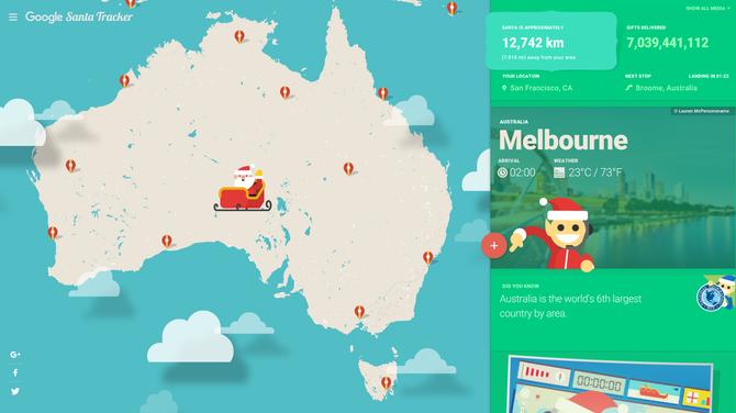 Wioska Świętego Mikołaja: interaktywne zabawy Google'a dla dzieci [2]