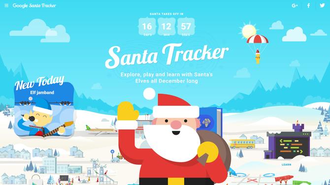 Wioska Świętego Mikołaja: interaktywne zabawy Google'a dla dzieci [3]