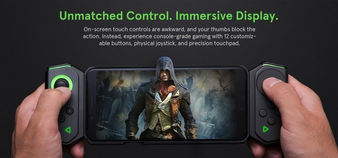 Xiaomi Black Shark Gamepad 2.0 - Pad do grania na smartfonie [1]