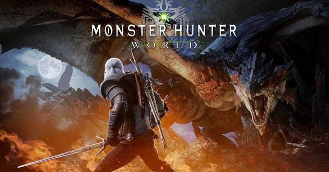 Wiedźmin trafia do kolejnej gry. Tym razem Monster Hunter World [3]