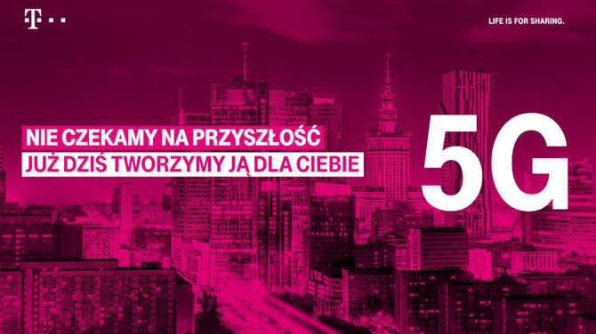 T-Mobile: operator uruchamia pierwszą w Polsce sieć 5G [2]