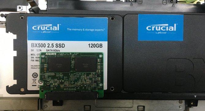 W dyskach SSD Crucial BX500 wykryto gorsze kości NAND [2]