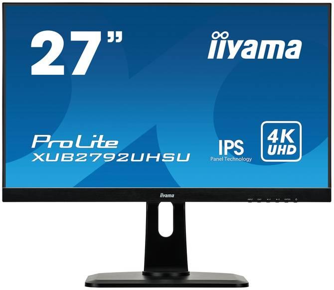 iiyama ProLite XUB2792UHSU-B1 - specyfikacja nowego monitora  [1]