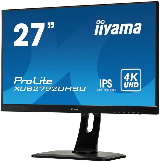 iiyama ProLite XUB2792UHSU-B1 - specyfikacja nowego monitora  [2]