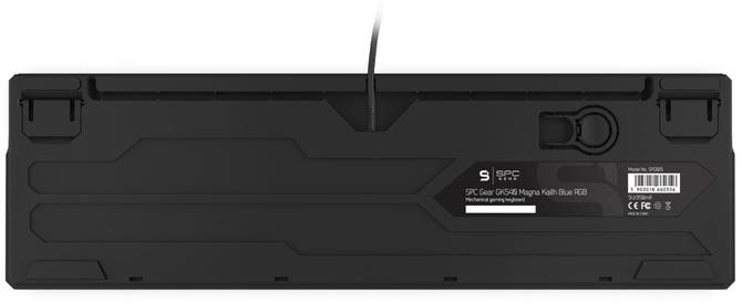 SPC Gear GK540 Magna - Tani, pełnowymiarowy mechanik z RGB LED [3]