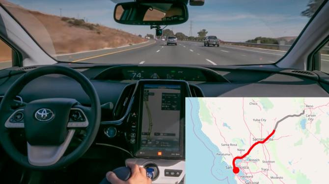 Niemal 5 tys. kilometrów pokonanych przez pojazd autonomiczny [2]