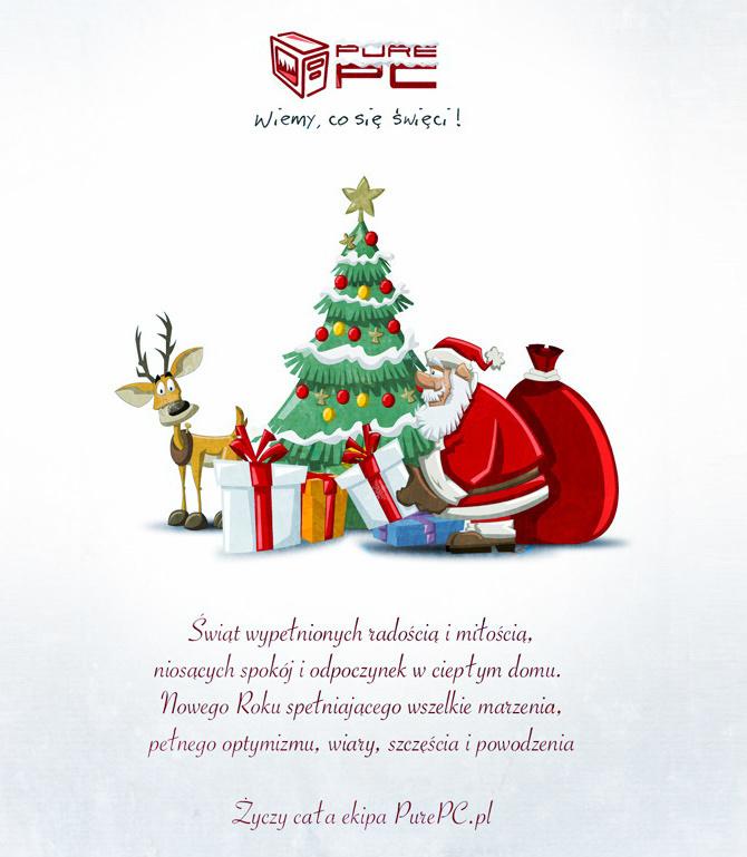 Życzymy Wesołych Świąt wszystkim czytelnikom PurePC.pl [1]