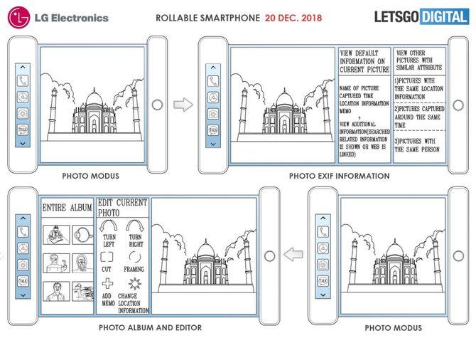 LG z patentem na innowacyjny telefon z rozwijanym ekranem [2]